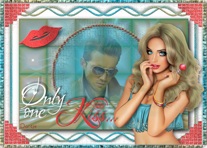 only one kiss marinettedesign  dortje