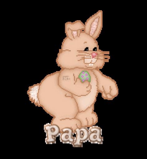Papa - BunnyWithEgg