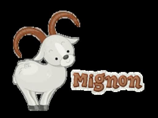 Mignon - BighornSheep