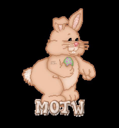 MOTW - BunnyWithEgg