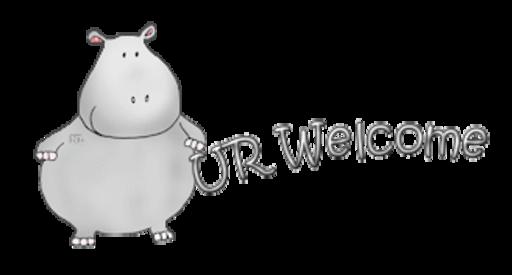 UR Welcome - CuteHippo2018