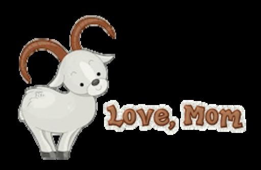 Love, Mom - BighornSheep