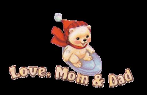 Love, Mom & Dad - WinterSlides