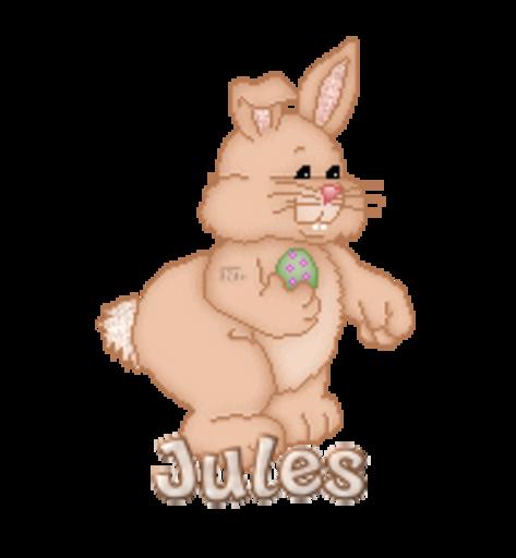 Jules - BunnyWithEgg