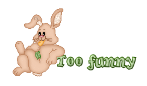 Too funny - BunnyWithCarrot