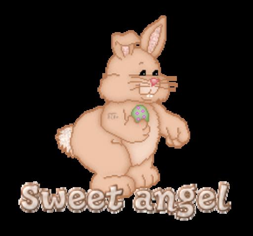 Sweet angel - BunnyWithEgg