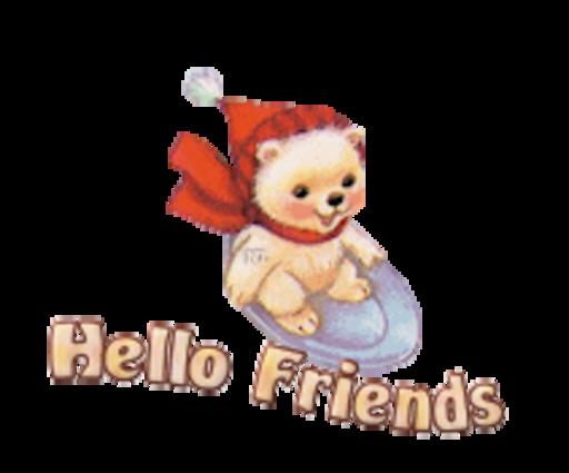 Hello Friends - WinterSlides