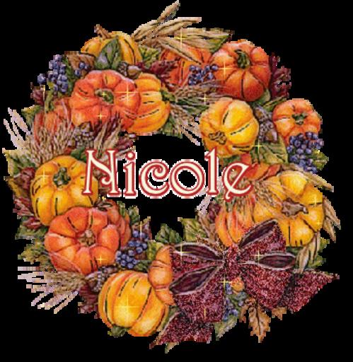 Nicole - I LOVE FALL-Sandra