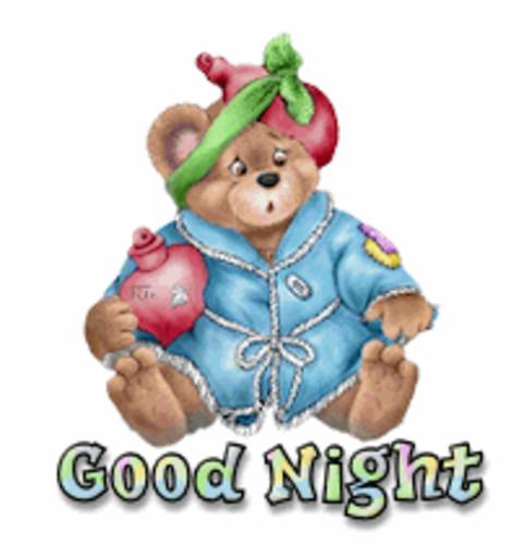 Good Night - BearGetWellSoon