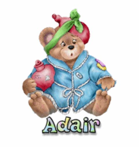 Adair - BearGetWellSoon