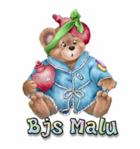 Bjs Malu - BearGetWellSoon