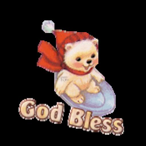 God Bless - WinterSlides