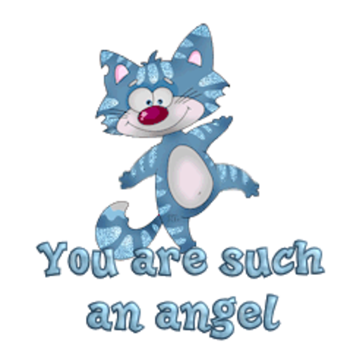 You are such an angel - DancingCat