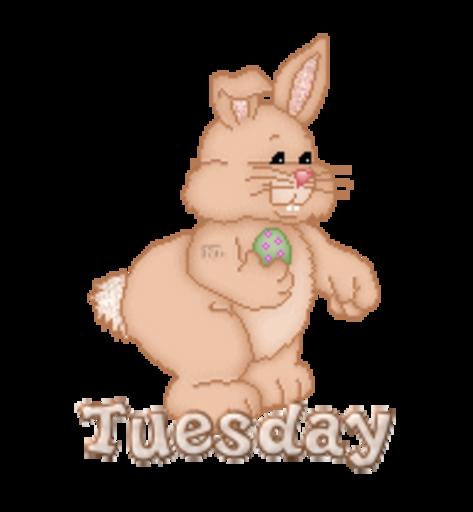 DOTW Tuesday - BunnyWithEgg