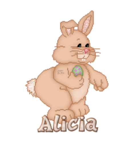 Alicia - BunnyWithEgg