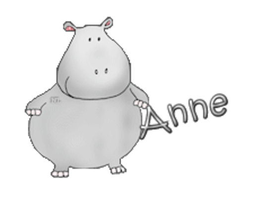 Anne - CuteHippo2018
