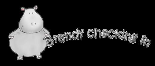 Brandy checking in - CuteHippo2018