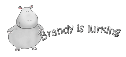 Brandy is lurking - CuteHippo2018