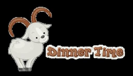 Dinner Time - BighornSheep