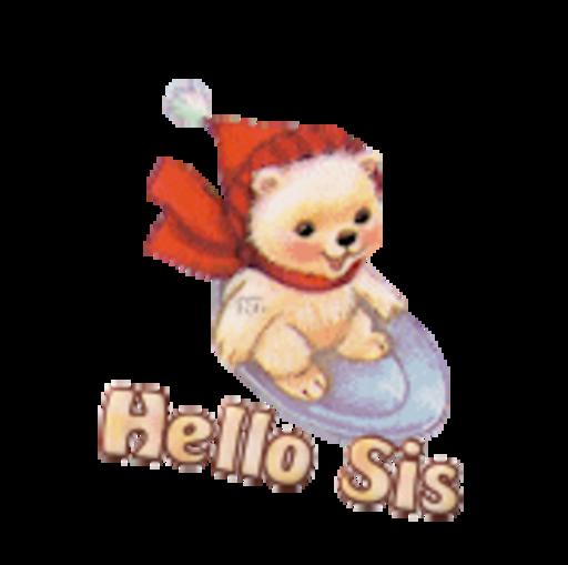 Hello Sis - WinterSlides