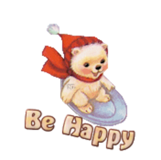 Be Happy - WinterSlides