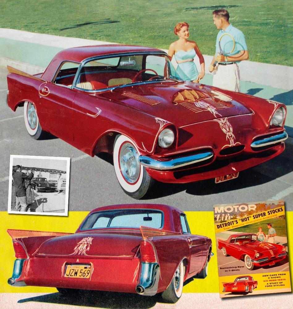 Gil Ayala  Ford Car Show Life Magazine