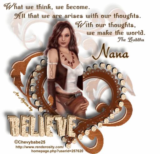 Nana Believe Chevyb Alyssia