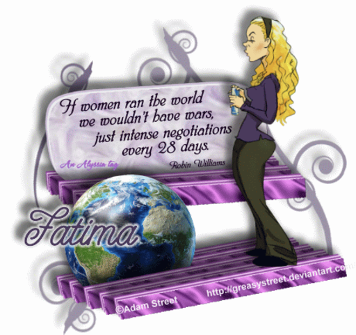 Fatima Negotiate AdamSt Alyssia