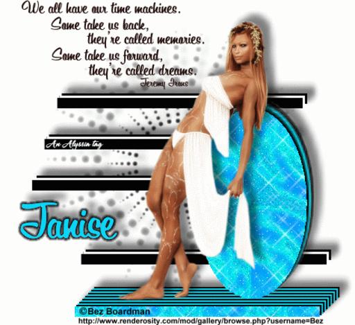 Janise TimeMach BezB Alyssia