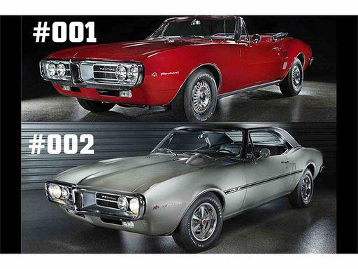 1967 Pontiac Firebirds