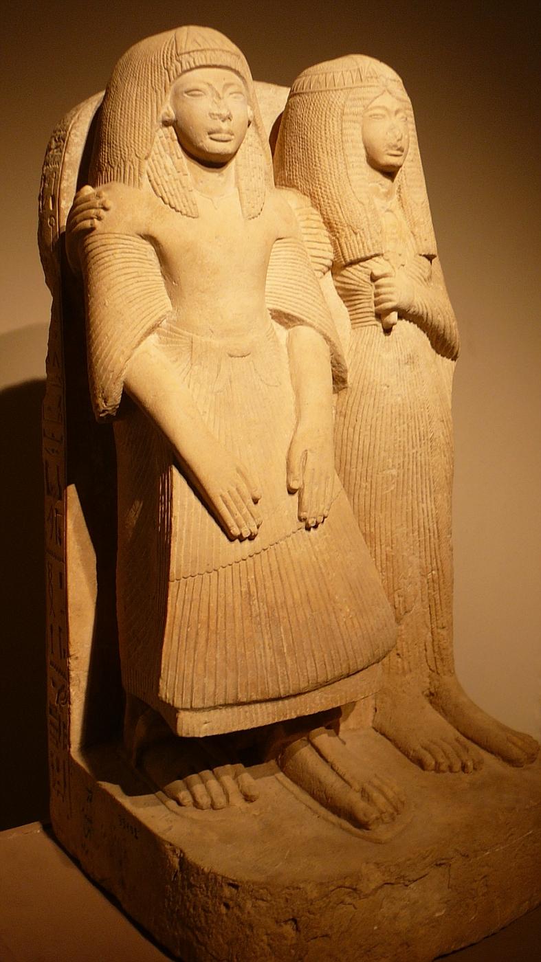 2500 BC Stone Statues