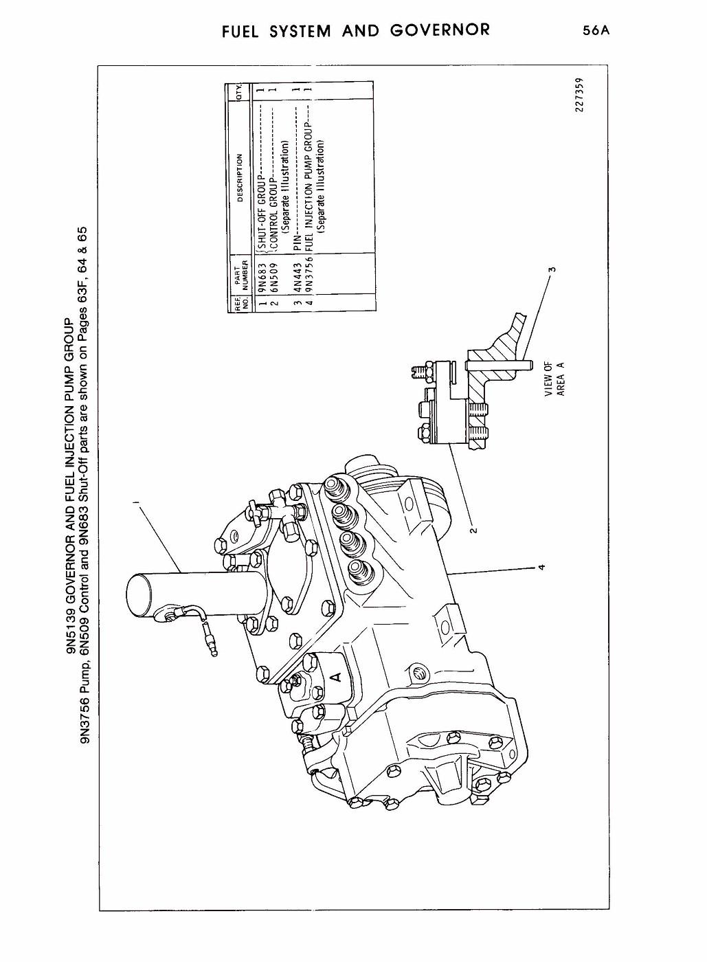Cat 3208 Injection Pump Diagram