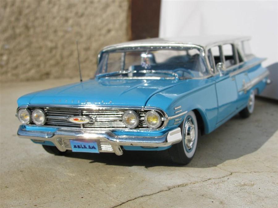 """Chevrolet """"impala"""" station wagon 1960 1173-vi"""