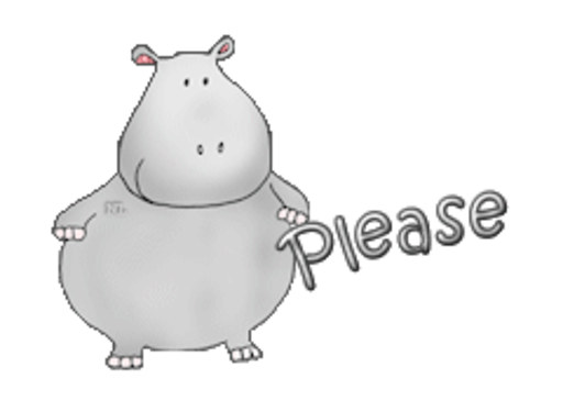 Please - CuteHippo2018