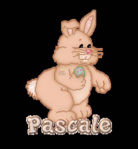 Pascale - BunnyWithEgg
