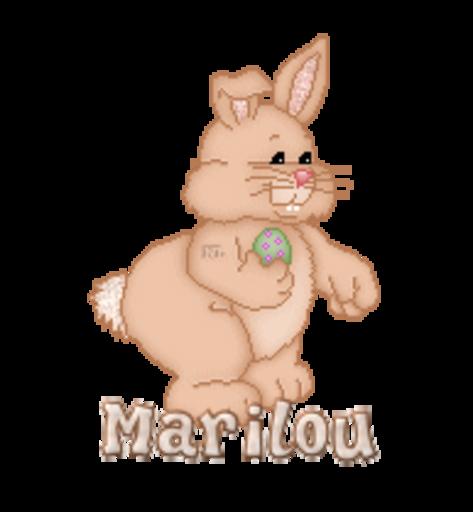 Marilou - BunnyWithEgg