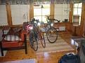 Räder im Ferienhaus
