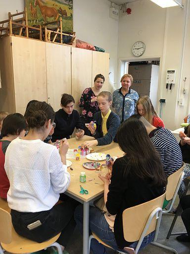 2018.03.25.Vackra Påskägg på Askim skola