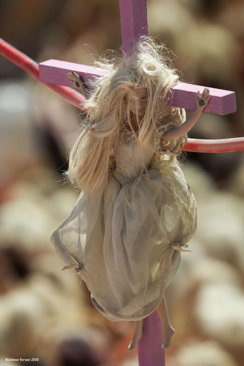 Crucified Barbie