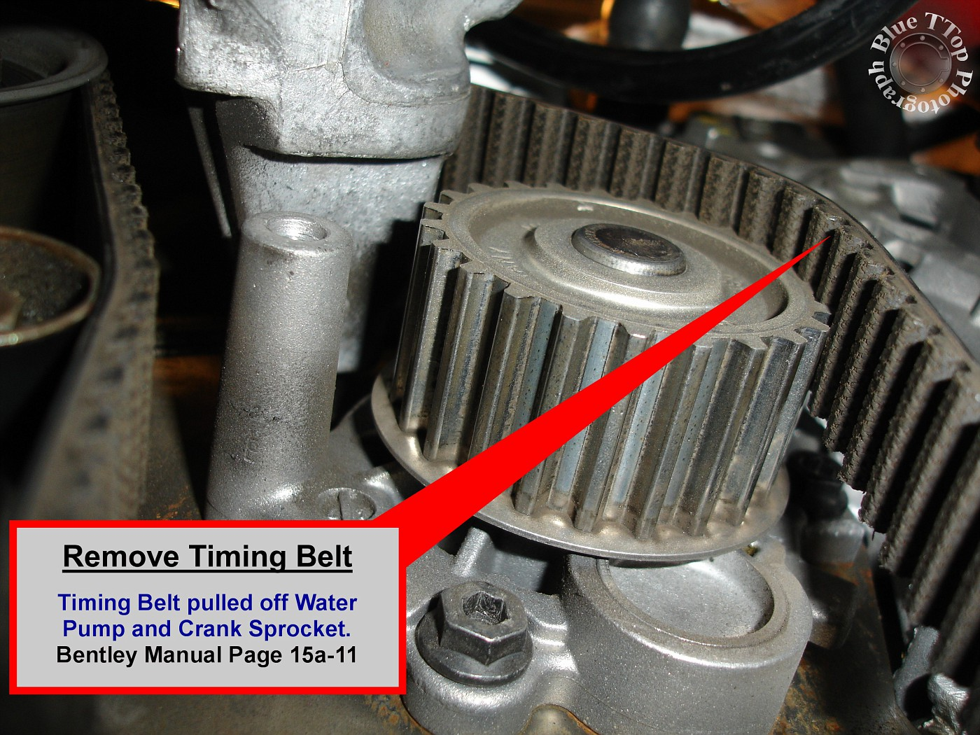 Timing Belt Replacement Writeup With 61 Pictures And 44