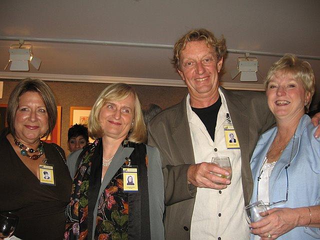Carol [Keslo] Speed, Lorraine [Brod] Tausig, Richard Amend & Margie [Gillian] Struk