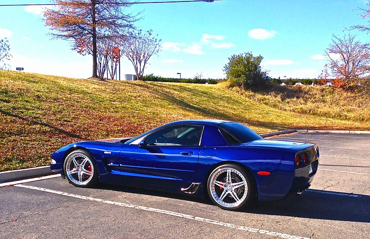 Electron Blue Z06 Rims And Tires Lets Get Some Pics Boys