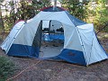 Operating and sleeping tent