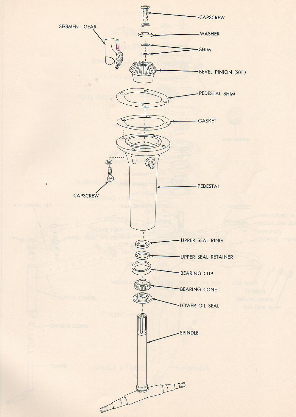 Allis Chalmers Wd Parts Diagram