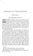001 - HISTORY OF TORRINGTON