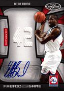 2009-10 Certified Fabric of the Game Autograph Elton Brand (1)
