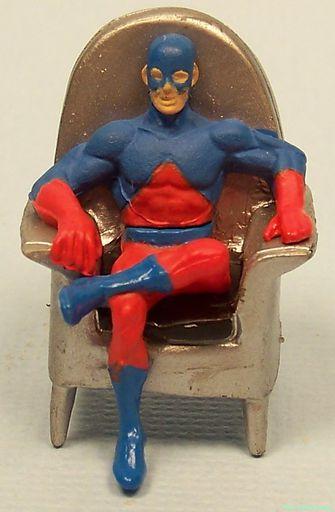 Atom (in JLA chair)
