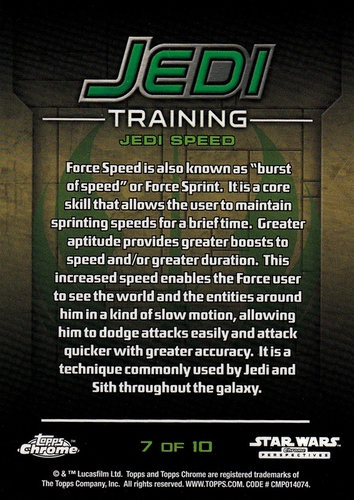 Chrome Perspectives Jedi vs  Sith Jedi Training #07 (2)