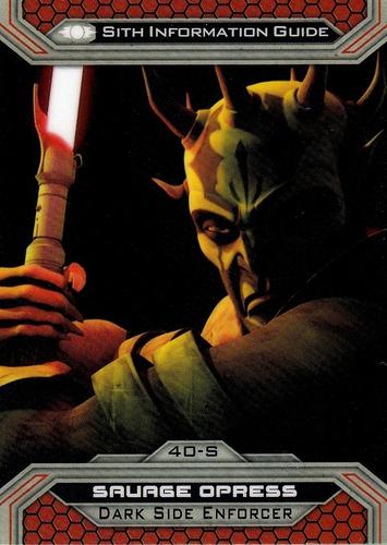 Chrome Perspectives Jedi vs  Sith #40S (1)