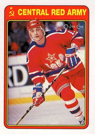1990-91 O-Pee-Chee Central Red Army #04R (1)